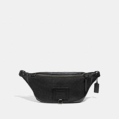 RIVINGTON BELT BAG IN SIGNATURE JACQUARD