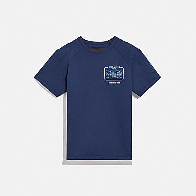 COACH X CHAMPION EMBELLISHED T-SHIRT