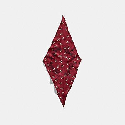 ホース アンド キャリッジ シルク ダイヤモンド スカーフ