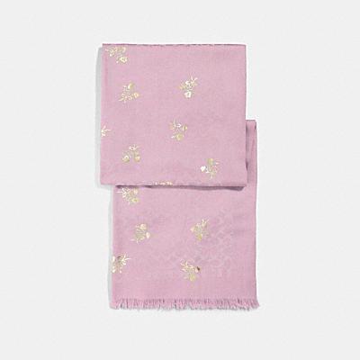 Floral Bow Foil Sig C Stole