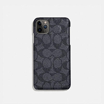 コーチ COACHの全てのファッション小物 |iPhone 11 Pro ケース シグネチャー キャンバス
