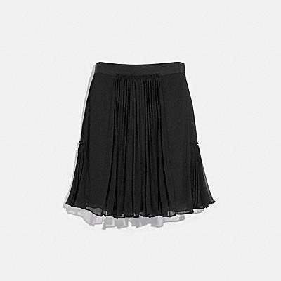 プリーテッド スカート