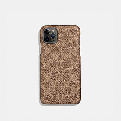 コーチ COACHの全てのファッション小物 |iPhone 11 Pro Max ケース シグネチャー キャンバス