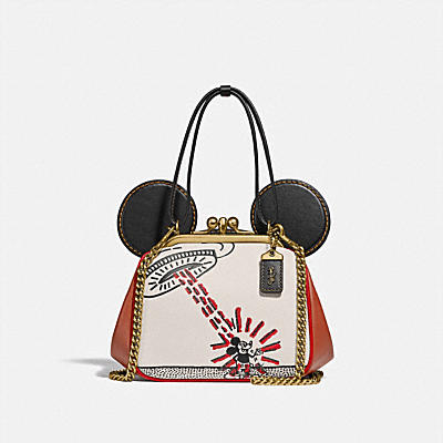 DISNEY MICKEY MOUSE X KEITH HARING 키스락 백
