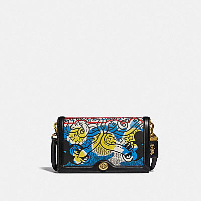 DISNEY MICKEY MOUSE X KEITH HARING RILEY CROSSBODY