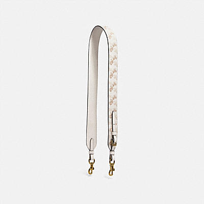 STRAP WITH HORSE AND CARRIAGE PRINT