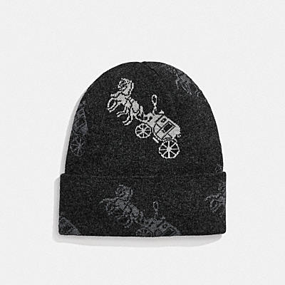HORSE AND CARRIAGE BEANIE