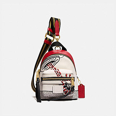 DISNEY MICKEY MOUSE X KEITH HARING ACADEMY BACKPACK 15