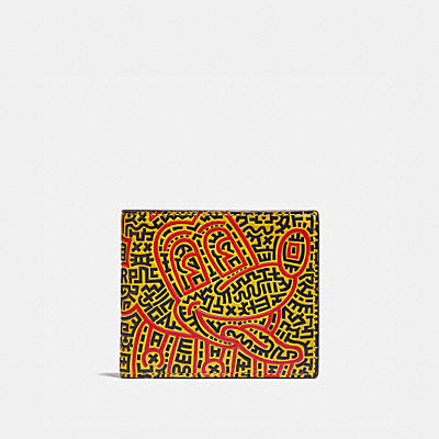 DISNEY MICKEY MOUSE X KEITH HARING 皮夾