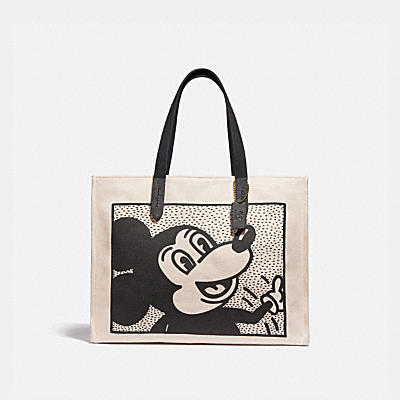 DISNEY MICKEY MOUSE X KEITH HARING 토트 42