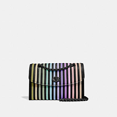 Ombre Quilting Parker Shoulder Bag