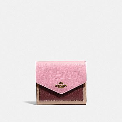 コーチ COACHの財布&革小物 |スモール ウォレット カラーブロック