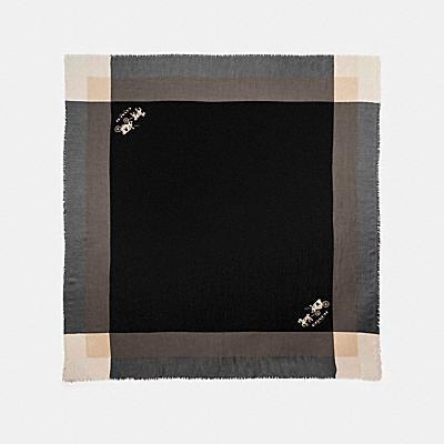 CHALLIS 格紋圍巾