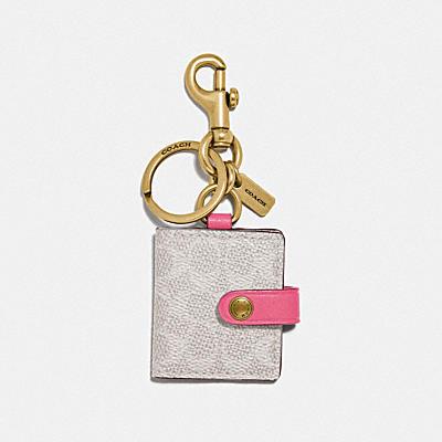 コーチ COACHの全てのファッション小物 |シグネチャー ピクチャー フレーム バッグ チャーム