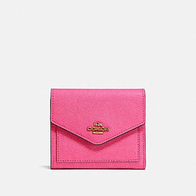 コーチ COACHの人気財布&革小物 |スモール ウォレット クロスグレイン レザー