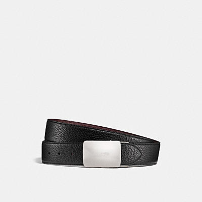 PLAQUE CUT-TO-SIZE REVERSIBLE BELT