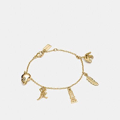 MINI 18K GOLD PLATED CHARM MIX BRACELET