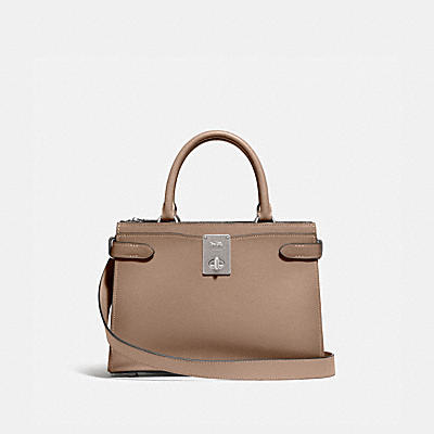 HUTTON CARRYALL 撞色手袋