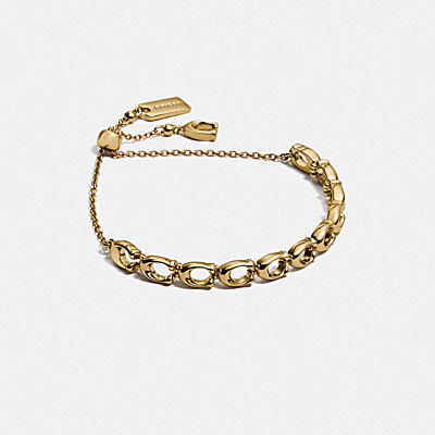 SIGNATURE LINK FRIENDSHIP SLIDER BRACELET