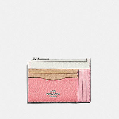Colorblock Large Card Case