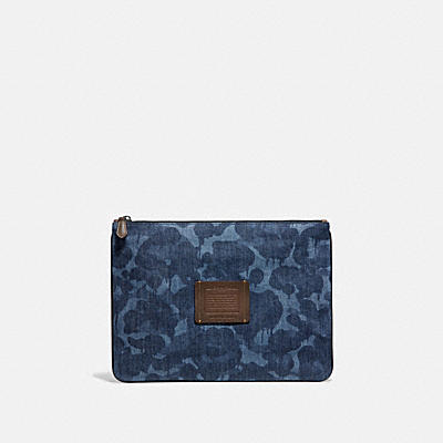 Multifunctional Pouch In Denim Wild Beast