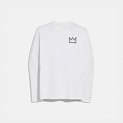 COACH X JEAN-MICHEL BASQUIAT LONG SLEEVE T-SHIRT