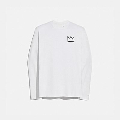 COACH X JEAN-MICHEL BASQUIAT 롱 슬리브 티셔츠