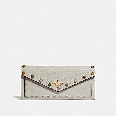 SOFT WALLET WITH RIVETS