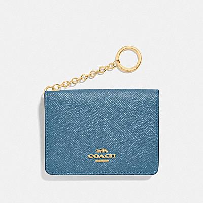KEY RING CARD CASE