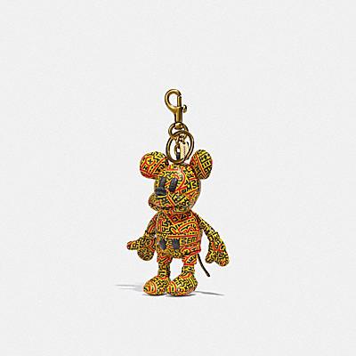 コーチ COACHのコーチ ミッキー アンド キース・へリング |ディズニー ミッキー マウス X キース・ヘリング コレクティブル バッグ チャーム