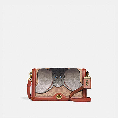 Riley Disney x Coach Dumbo經典Signature帆布印花手袋