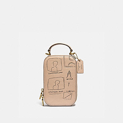 COACH X JEAN-MICHEL BASQUIAT ALIE CAMERA BAG