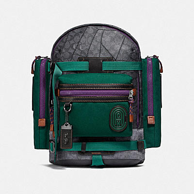 Signature Ridge Backpack With Coach Patch