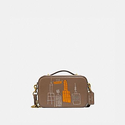 コーチ COACHの財布&革小物 |COACH X JEAN-MICHEL BASQUIAT アリー ベルト バッグ