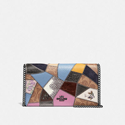 Patchwork Coated Canvas Signature Callie