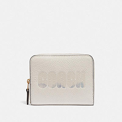 Coach Graphic Small Zip Around Wallet