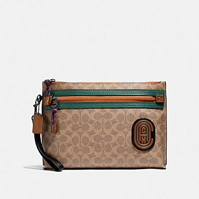 Academy Pouch in Signature featuring Bub