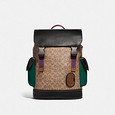 Signature Rivington Backpack with Coach