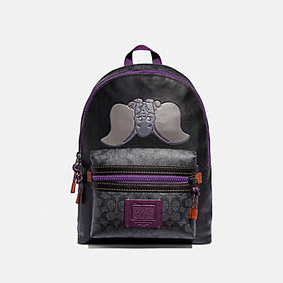 Disney x Coach Dumbo印花多功能後背包