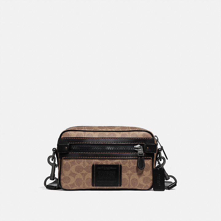 38da8616cb24 COACH Official Site Official page|ACADEMY CROSSBODY IN SIGNATURE CANVAS