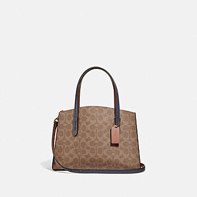 47a5e5193 CHARLIE CARRYALL 28 IN COLORBLOCK SIGNATURE CANVAS