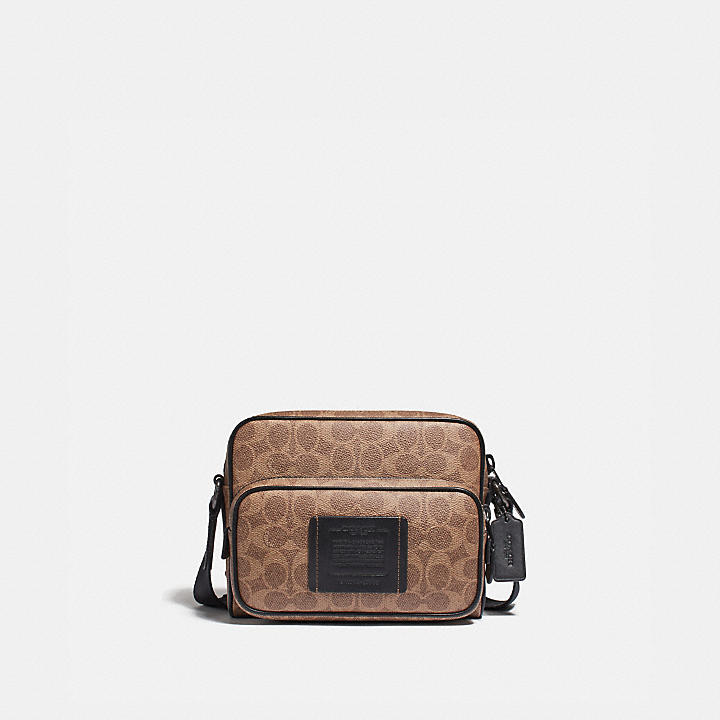 8fed3ab593f7 COACH Official Site Official page|ACADEMY SPORT CROSSBODY IN SIGNATURE  CANVAS