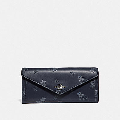 SOFT WALLET WITH STAR PRINT