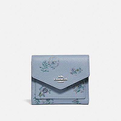 SMALL WALLET WITH MEADOW PRAIRIE PRINT