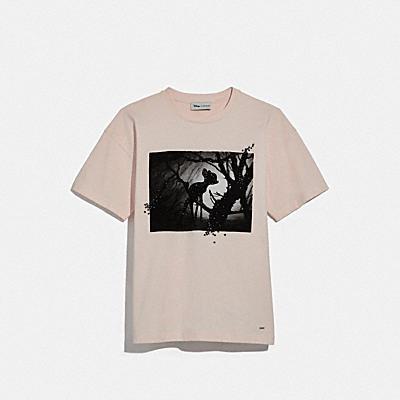 DISNEY X COACH バンビ オーバーサイズド Tシャツ