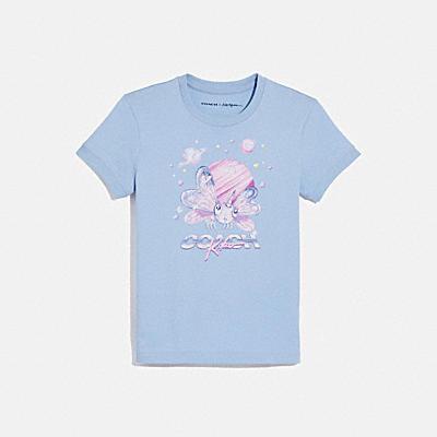 【COACH X 水原 希子】KIKO SHRUNKEN 70'S Tシャツ