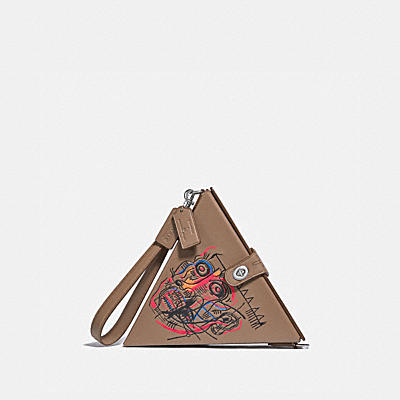COACH X JEAN-MICHEL BASQUIAT TRIANGLE 24 三角手袋