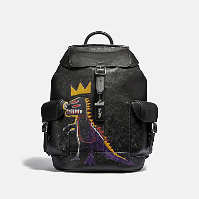 COACH X JEAN-MICHEL BASQUIAT WELLS 後背包
