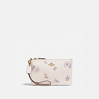 SMALL WRISTLET WITH MEADOW PRAIRIE PRINT