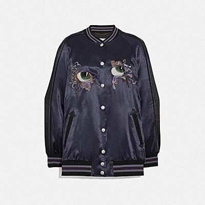 Oversize Souvenir Varsity Jacket